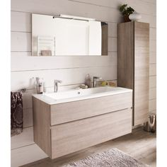 Rustic Bathroom: 55 Ideas and Decorating Designs to Inspire - Home Fashion Trend Bathroom Inspiration, Bathroom Vanity, Stylish Bathroom, Small Bathroom, Ikea Bathroom, Rustic Bathroom, Bathroom Interior Design, Bathroom Decor, Bathroom Design