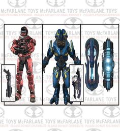 Halo Reach Series 6: 3-Deluxe Box Set Invasion