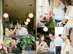 Идеи для фотосессии love story: в кафе