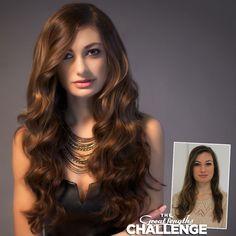 Great Lengths hair extensions by Danielle Keasling of Salon Karma in South Carolina.