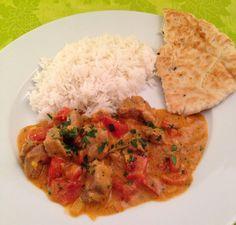 Kochdiele: Lamm-Curry