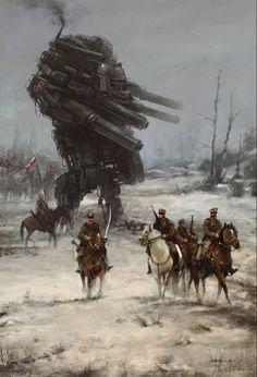 ArtStation - 1920 - Warlord, Jakub Rozalski