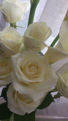 Personalised Memorial Flowers