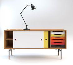 Finn Juhl I Cabinet Danish Modern Mod Furniture, Dream Furniture, Furniture Makeover, Furniture Design, Danish Furniture, Rack, Mid Century Modern Design, Danish Modern, Danish Design