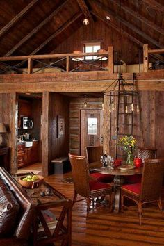 small cabins interiors lake house interior color ideas best small cabin interiors on tiny cabins small log cabins interiors Small Log Cabin, Little Cabin, Log Cabin Homes, Log Cabins, Small Cabins, Rustic Cabins, Rustic Homes, Rustic Cottage, Barn Homes