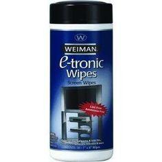 Electronic Media Wipes