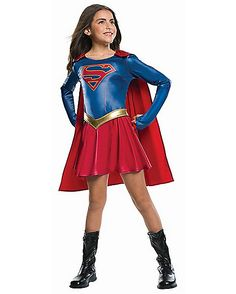Kids Supergirl Costume - Supergirl - Spirithalloween.com