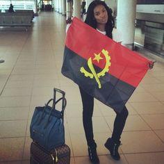 """Maria Borges e Sharam Diniz a caminho de Angola para o """"Angola Fashion Week"""" http://angorussia.com/?p=20573"""