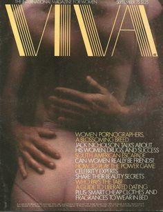 VIVA The International Magazine for Women September 1975 Newspaper Headlines, Jack Nicholson, Music Albums, Pulp Fiction, Beauty Secrets, Drugs, September, Magazine Covers, 1970s
