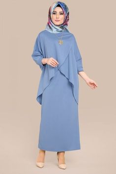 Yarasakol Triple Combination Baby Blue, You can collect images you discovered organize them, add your own ideas to your collections and share with other people. Islamic Fashion, Muslim Fashion, Modest Fashion, Fashion Dresses, Abaya Designs, Hairstyle Trends, Abaya Mode, Hijab Stile, Hijab Style Tutorial