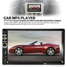Cheap 2 din, Buy Quality 2 din directly from China 2 din car Suppliers: Universal 2 Din Car Audio Stereo Player Touch Screen Car Video Player TF USB FM Radio Support Bluetooth Hands-free Call Radios, Audio In, Car Audio, Auto Audio, Bluetooth Car Stereo, Carte Sd, Car Videos, Display, Automobile