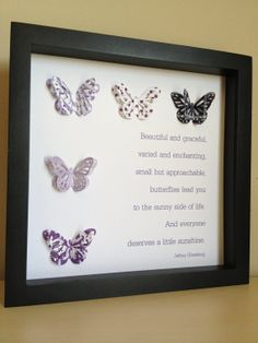 Butterfly Poem : to make for elena