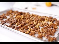 How to make Sweet Spicy Nuts with Curtis Stone - Coles - YouTube