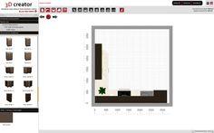 3D Creator Family Line | Kuchnie BLACK RED WHITE
