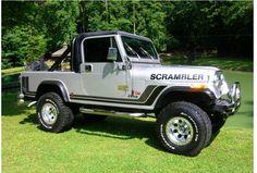 Pin by Douglas King on Jeep Scrambler New Jeep Truck, Cj Jeep, Jeep Cj7, Jeep Pickup, Chevy Trucks, Lifted Trucks, Jeep Wranglers, Cool Jeeps, Cool Trucks