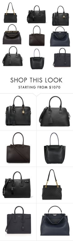 INVESTMENT BAG by fultonhoward on Polyvore featuring Fendi, Yves Saint Laurent, Maison Margiela, Alexander McQueen, Rochas, Tod's and Gucci