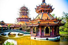 Phra Kaew Pavilion, Muang Boran (The Ancient City) - an outdoor museum, Samut Prakan, Thailand