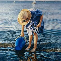 American Figurative Painter | Danielle Richard