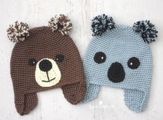 Yarnspirations Caron Collection Koala-ty Hat and Yarn Giveaway! - Repeat Crafter Me