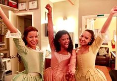 The Schuyler Sisters; Lexi, Renée, and Jasmine