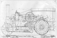 This is from a famous artist, Leonardo's Da Vinci engineering drawing from Technical Illustration, Technical Drawings, Train Drawing, Steam Tractor, Section Drawing, Bob Ross Paintings, Woodland Art, Vintage Drawing, Prop Design