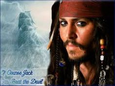 Johnny Depp -Pirates of the Caribbean: Jack Sparrow