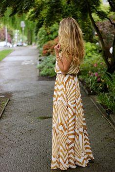 Vestidos largos, verano... Let it Flow...