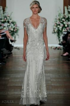 Jenny Packham. Modelo Azalea. Impresionante vestido de novia.
