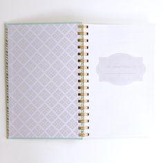 Gold Chevron Bible Verses Notebook