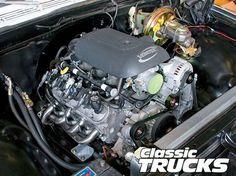 1972 Chevy C-10 LS1 Engine Install - Classic Trucks Magazine