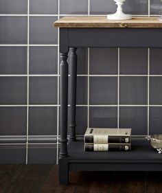 MH Earl Grey Atlas Skirting Tile