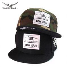 2017 DGK Snapback Caps Flat Hip Hop Casquette Gorras Baseball Cap Hat Adult Camouflage Adjustable Planas Hats For Men Women Flat Hats, Sports Caps, Hats For Men, Women Hats, Cool Hats, Snap Backs, Snapback Cap, Baseball Cap, Camouflage