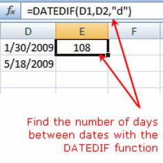 Learn the DATEDIF Function in Excel to Count Days Months and Years - Calculators - Ideas of Calculators - Which Excel Function Calculates the Number of Days Between Dates?: Calculate the Number of Days Between Dates Computer Help, Computer Programming, Computer Science, Computer Tips, Computer Basics, Microsoft Windows, Microsoft Office, Excel Design, Learning