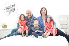 Triplet Photography | Family | Triplets | Adorable | Brittany Gidley Photography LLC | Cleveland Triplet Photographer | Cleveland Photographer | Cleveland Toddler Photographer