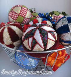 Almost Japanese kimekomi balls
