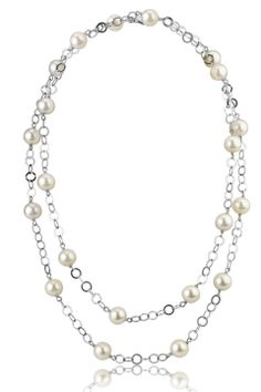 Circles 9mm Designer Freshwater Pearl Necklace  Have to sign up for the website to look at