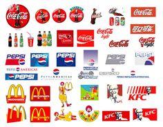 Descarga este set de logos de bebidas colas como Pepsi, Coca Cola, Fanta, Sprite, etc Les recomiendo este set de logos de distintas bebidas, ya sea de la línea de coca cola como la línea de pepsi. Además encontrarán en vectores el logo de Mc Donald`s y otros. Espero les sirvan estos logos de marcas famosas en vectores y estén atentos porque voy a seguir compartiendo este tipo de material vinculados a marcas famosas. saludos