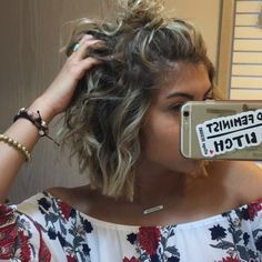 I love this girl and I love her hair! I love this girl and I love her hair! Love Hair, Great Hair, Medium Hair Styles, Curly Hair Styles, Haircut And Color, Hair Today, Hair Dos, Pretty Hairstyles, Short Hair Cuts