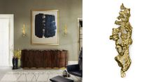 Ready for a Summer set inspired in Classic and imperial furniture-CAY wall lamp. brass wall light, brass suspension light, brass and wood screen, brass center table,  brass side table, brass display, living room ideas, modern living room, contemporary living room, luxury european furniture manufacturers