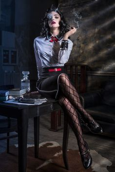 First photo from my last photoset. Fendom: Bioshock Burial at sea Character: Elizabeth Photographer: Andrey Shinkachuk (Sketch_Turner) Cosplayer: Sofia . Bioshock Infinite: Burial at sea Creative Photography, Portrait Photography, Fashion Photography, Professional Photography, Film Noir Photography, Forensic Photography, Umbrella Photography, Photography Articles, Photography Studios