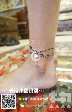 Tattoo Fuß Ideen - My tattoos Ankel Tattoos, Mom Tattoos, Finger Tattoos, Body Art Tattoos, Hand Tattoos, Tatoos, Charm Bracelet Tattoo, Jewelry Tattoo, Bracelet Tattoos
