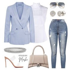 """STYLED BY MASHI on Instagram: """"DREAMING IN PASTELS 💙🤍  We hope you love this outfit as much as we do! It is the perfect smart casual outfit for our Sophisticated Ladies…"""""""