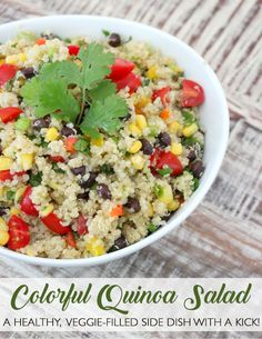 House of Smiths Quinoa Salad Recipes, Vegetarian Recipes, Healthy Recipes, Healthy Meals, Healthy Food, Yummy Food, Ww Recipes, Clean Eating, Healthy Eating