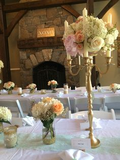 Florals and decor by Occasions by Emily.