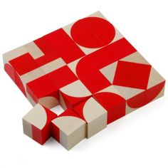 Bauhaus Puzzle. Saw it at the Bauhaus archive in Berlin. Bauhaus Shop, Bauhaus Design, Bauhaus Art, Bauhaus Style, Walter Gropius, Design Reference, Cool Toys, Design Elements, Vintage Toys