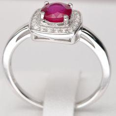 Handmade Natural Gemstone Jewelry Genuine Blood by thaigemstone, $155.00