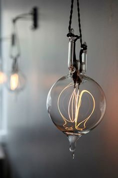 incandescent light sculptures by Dylan Kehde Roelofs