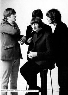 John Lennon, Richard Starkey, Paul McCartney, and Richard Starkey