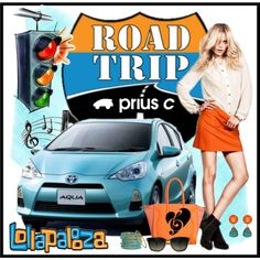 Go on Tour with Prius c, created by marie-guzik-mcauley on Polyvore