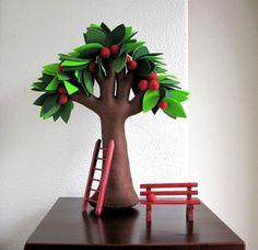 Árvore com molde